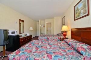 Guest Room at Americas Best Value Inn