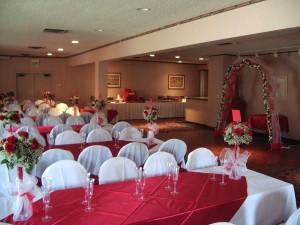 Banquet Room at Day's Inn Novato