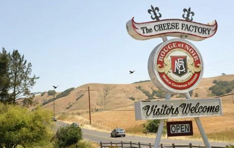 Marin French Cheese Factory, near Novato CA