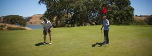 Golfing in Novato