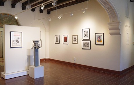 MOCA lobby - Marin Museum of Contemporary Art