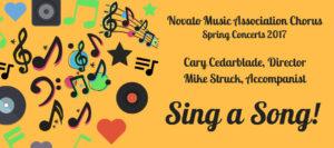 2017 Novato Music Association Chorus Spring Concert
