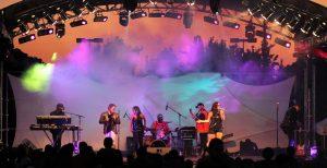 The Peelers performing