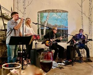 Claiborne and Friends performing at Trek Winery